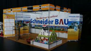 Messestand Schneider Bau
